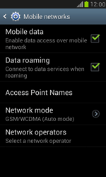 Samsung I8190 Galaxy S III Mini - Network - Change networkmode - Step 7