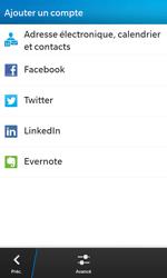 BlackBerry Z10 - E-mails - Ajouter ou modifier un compte e-mail - Étape 6