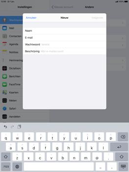 Apple ipad-air-10-5-inch-2019-model-a2123-ipados-13 - E-mail - Account instellen (POP3 zonder SMTP-verificatie) - Stap 8