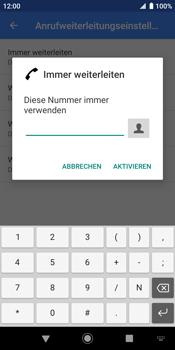 Sony Xperia XZ2 - Android Pie - Anrufe - Rufumleitungen setzen und löschen - Schritt 10