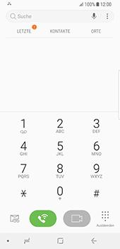 Samsung Galaxy S9 - Anrufe - Anrufe blockieren - 0 / 0