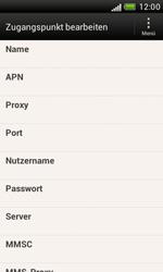 HTC Desire X - MMS - Manuelle Konfiguration - Schritt 7