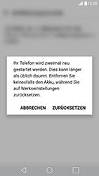 LG G5 SE (H840) - Android Nougat - Fehlerbehebung - Handy zurücksetzen - Schritt 10