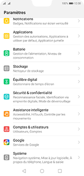 Huawei P20 - Android Pie - Logiciels - Installation de mises à jour - Étape 3