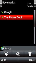 Nokia 5800 Xpress Music - Internet - Internet browsing - Step 10