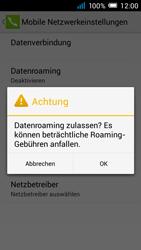 Alcatel Pop C7 - Ausland - Im Ausland surfen – Datenroaming - 0 / 0