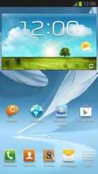 Samsung Galaxy Note II - Operazioni iniziali - Installazione di widget e applicazioni nella schermata iniziale - Fase 7