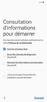 Samsung Galaxy A20e - Premiers pas - Configuration de l