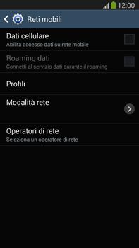 Samsung Galaxy Note III LTE - Internet e roaming dati - Come verificare se la connessione dati è abilitata - Fase 6