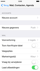 Apple iPhone 5s iOS 8 - E-mail - Account instellen (IMAP zonder SMTP-verificatie) - Stap 4