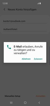 Samsung Galaxy S10e - E-Mail - Konto einrichten (outlook) - 10 / 16