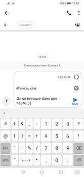 Huawei Y7 (2019) - MMS - envoi d'images - Étape 10