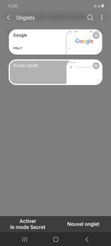 Samsung Galaxy Note20 - Internet et connexion - Naviguer sur internet - Étape 18