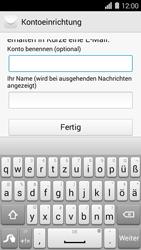 Huawei Ascend Y550 - E-Mail - Konto einrichten (outlook) - 9 / 12