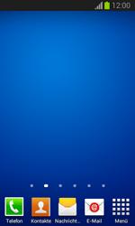 Samsung Galaxy Trend Lite - Startanleitung - Installieren von Widgets und Apps auf der Startseite - Schritt 11