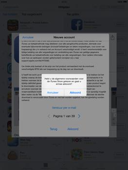 Apple iPad mini iOS 8 - Applicaties - Account aanmaken - Stap 11