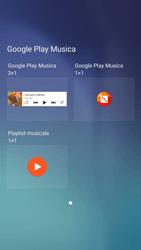 Samsung Galaxy S6 - Android Nougat - Operazioni iniziali - Installazione di widget e applicazioni nella schermata iniziale - Fase 6