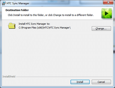 HTC One SV - Software - Installing PC synchronisation software - Step 6