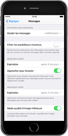 Apple Apple iPhone 7 - iOS features - Fonctions iMessage - Étape 2