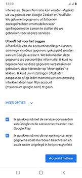 Samsung Galaxy A20e - apps - account instellen - stap 16