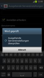 Samsung Galaxy S III LTE - E-Mail - Manuelle Konfiguration - Schritt 14