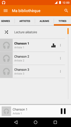 Motorola Moto E (1st Gen) (Lollipop) - Photos, vidéos, musique - Ecouter de la musique - Étape 9