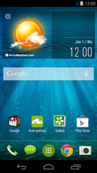 Acer Liquid Jade - SMS - Handmatig instellen - Stap 1