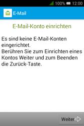 Alcatel OT-4009D Pixi 3 (3.5) - E-Mail - Konto einrichten - Schritt 5