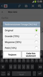 Samsung I9195 Galaxy S IV Mini LTE - E-mail - envoyer un e-mail - Étape 14