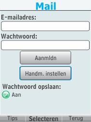 Nokia 301-1 - e-mail - handmatig instellen - stap 8