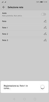 Huawei P20 - Android Pie - Rete - Selezione manuale della rete - Fase 10
