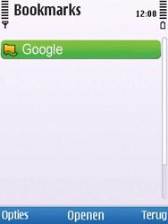 Nokia 6700 slide - internet - hoe te internetten - stap 8