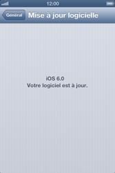 Apple iPhone 4 - Logiciels - Installation de mises à jour - Étape 8