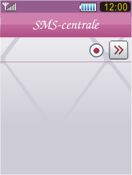 Samsung S7070 Diva - SMS - Handmatig instellen - Stap 10
