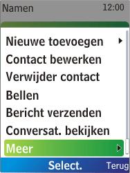 Nokia X2-00 - contacten, foto