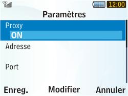 Samsung S3350 Chat 335 - MMS - Configuration manuelle - Étape 9