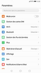 Huawei P10 Lite - Aller plus loin - Désactiver les données à l'étranger - Étape 3