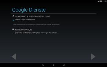 Sony Xperia Tablet Z2 LTE - Apps - Einrichten des App Stores - Schritt 15
