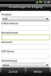 HTC A510e Wildfire S - E-Mail - Konto einrichten - Schritt 8