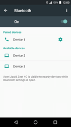 Acer Liquid Zest 4G - Bluetooth - Pair with another device - Step 8