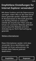 Nokia Lumia 1020 - Internet und Datenroaming - Verwenden des Internets - Schritt 4