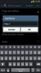 Samsung Galaxy S 4 Active - Internet et roaming de données - Configuration manuelle - Étape 25