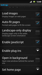 Sony MT27i Xperia Sola - Internet - Manual configuration - Step 19