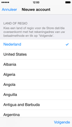 Apple iPhone 5s (iOS 8) - apps - account instellen - stap 10
