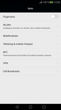 Huawei Mate S - Netzwerk - Netzwerkeinstellungen ändern - Schritt 4