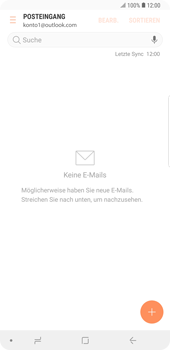 Samsung Galaxy Note9 - E-Mail - 032c. Email wizard - Outlook - Schritt 12