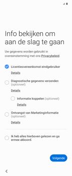 Samsung Galaxy Z Flip Single-SIM + eSIM (SM-F700F) - Instellingen aanpassen - Nieuw toestel instellen - Stap 7