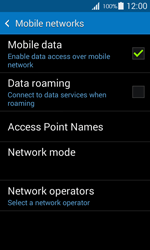 Samsung G357 Galaxy Ace 4 - Internet - Disable mobile data - Step 6
