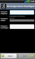 LG Optimus Black - Apps - Konto anlegen und einrichten - 9 / 19
