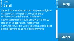 Nokia N97 - e-mail - handmatig instellen - stap 8